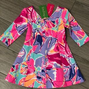 NWT Lilly Pulitzer Toddler Amella Dress XS